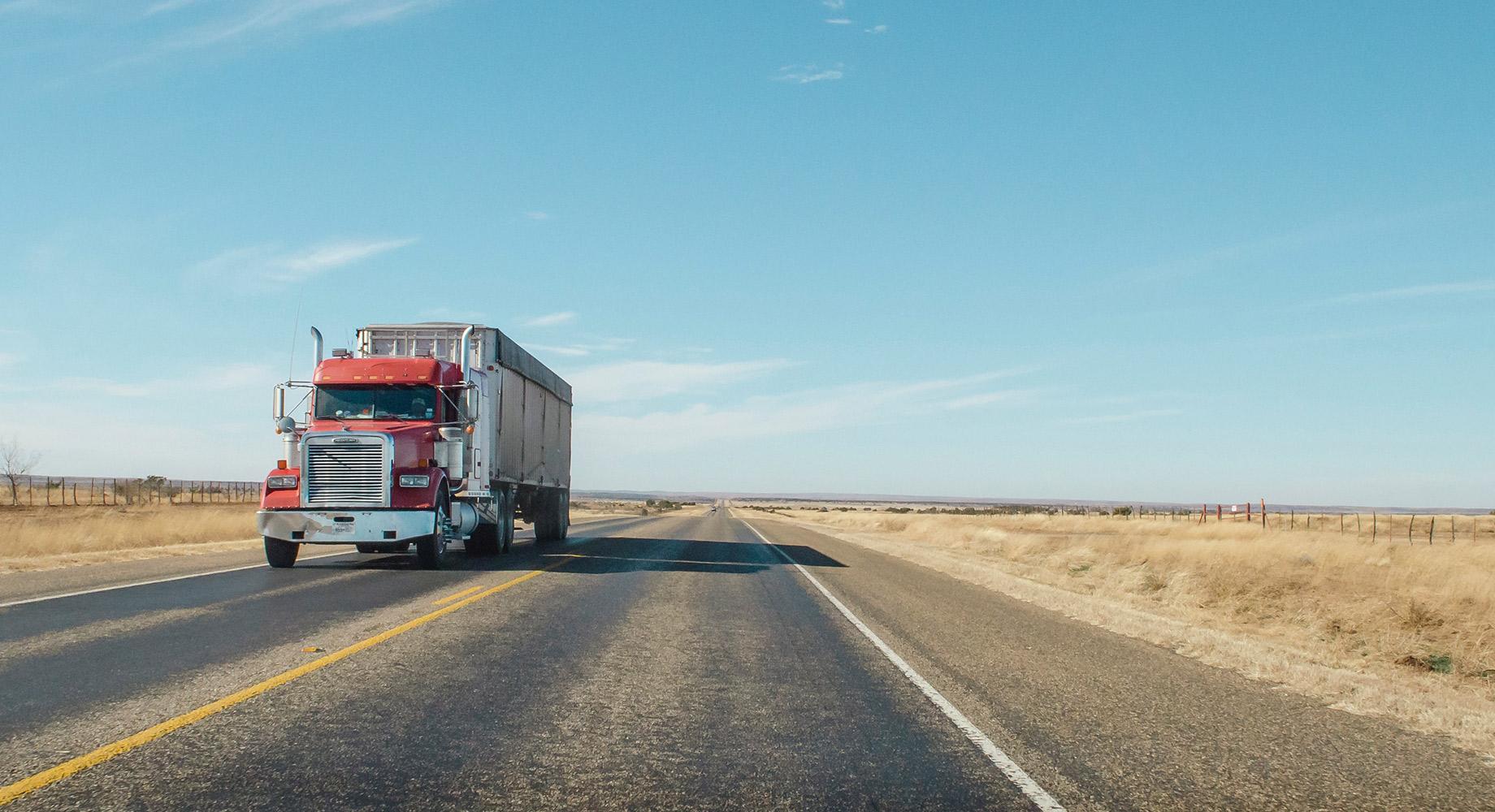 A full truckload shipment