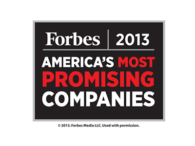 Forbes Most Promising Logo