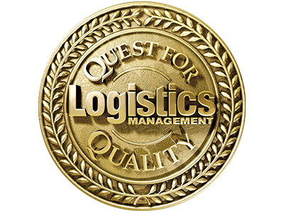 Logotipo de gestión logística